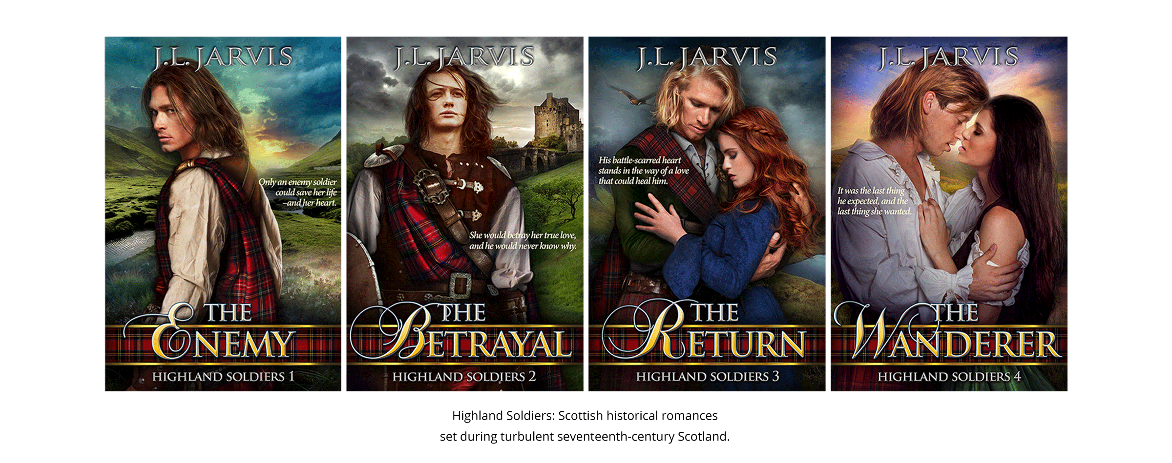 The Highland Soldiers Series