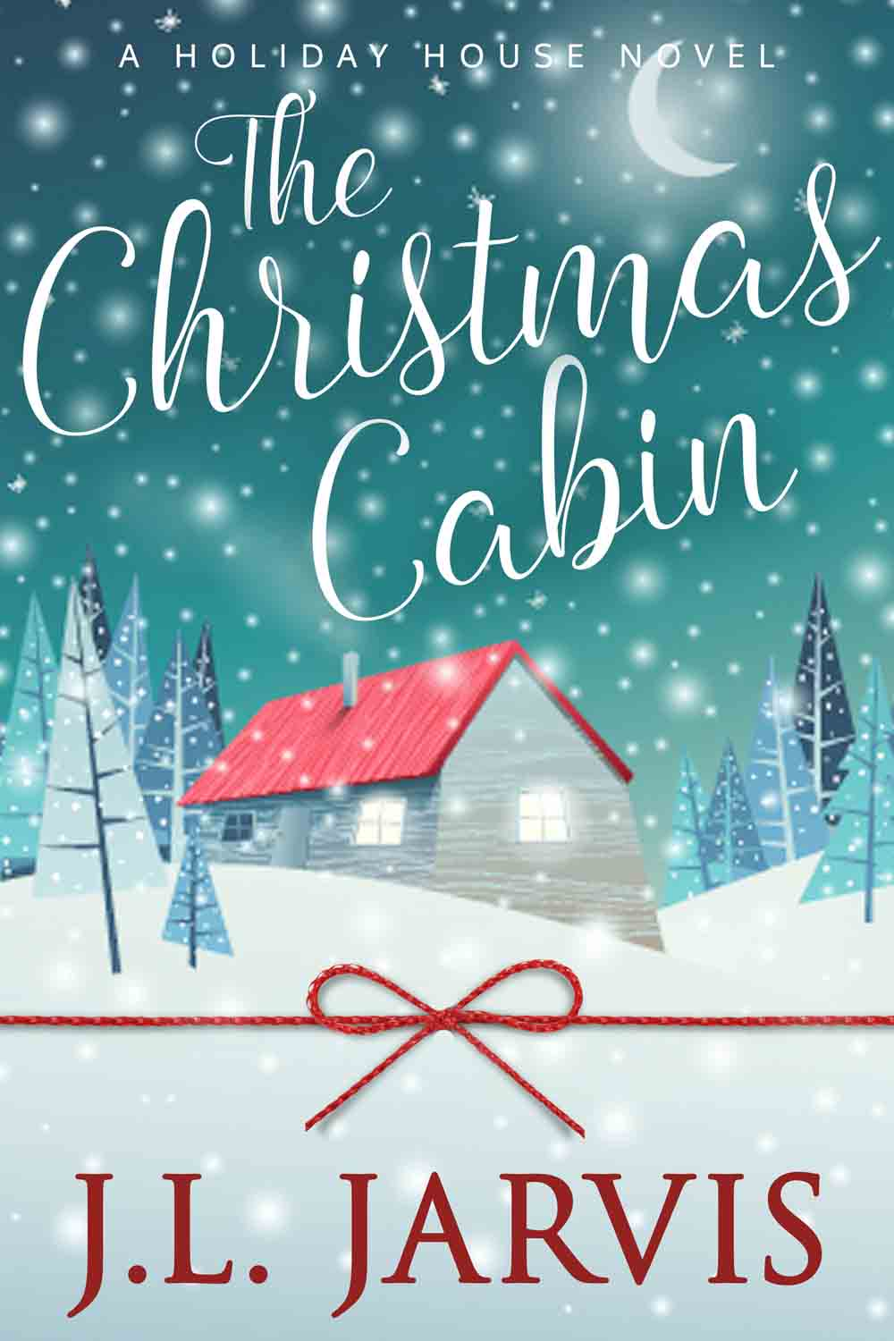 book cover - The Christmas Cabin