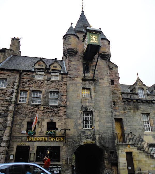 Old Tollbooth, Edinburgh, Scotland