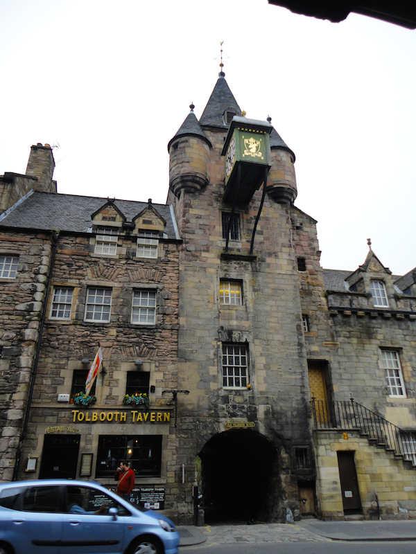 Old Tollbooth, Edinburgh, Scotland (July 2014)