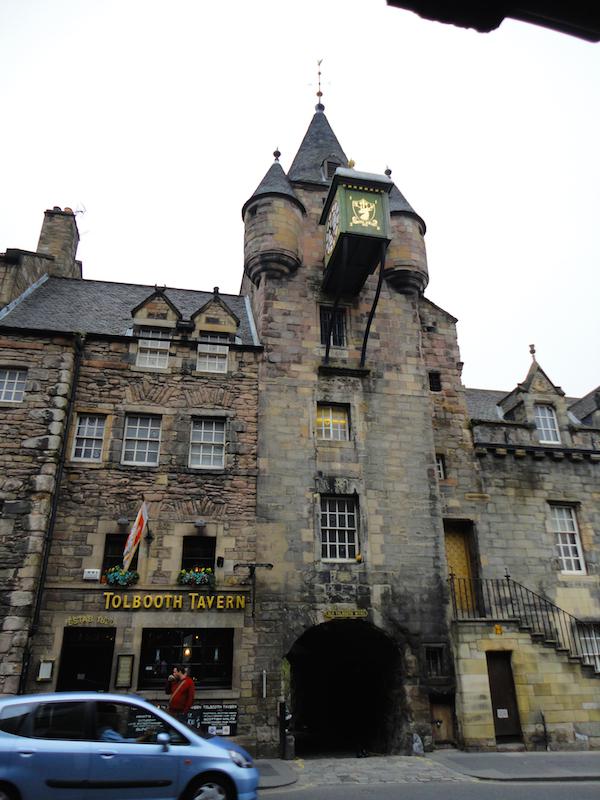 Old Tollbooth, Edinburgh, Scotland (July 2014)