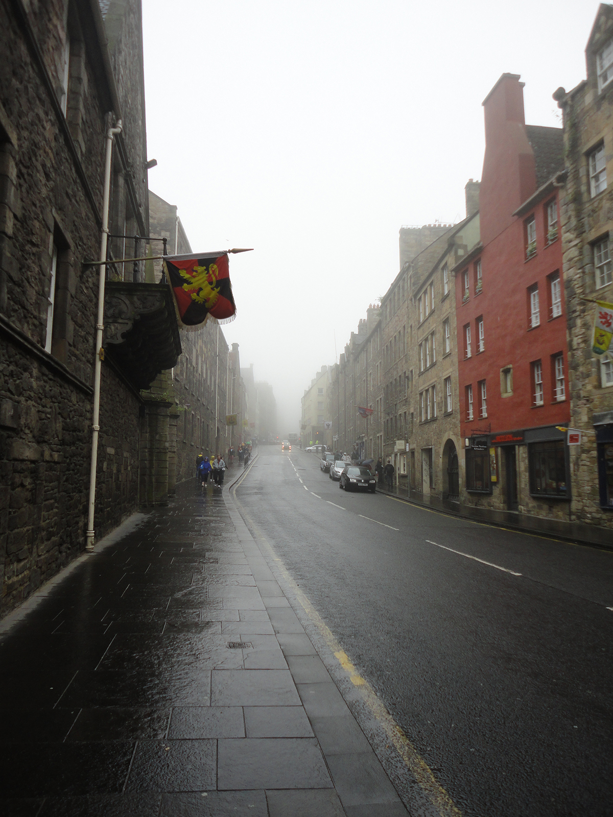 Edinburgh's Royal Mile (July 2014)