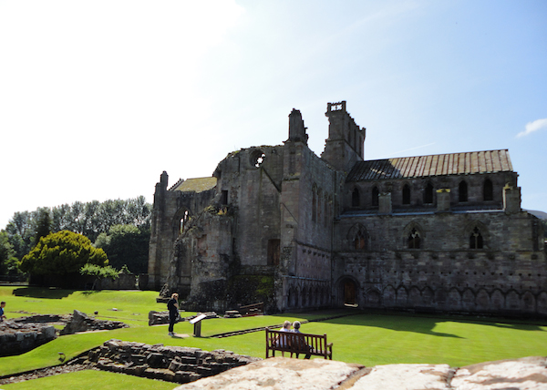 Melrose Abbey, Scotland (July 2014)