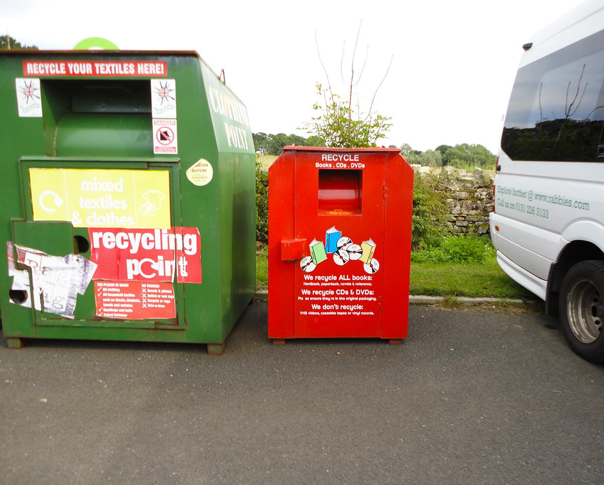Book Recycling Bin