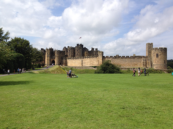 Alnwick Castle (aka Hogwarts), July 20, 2014