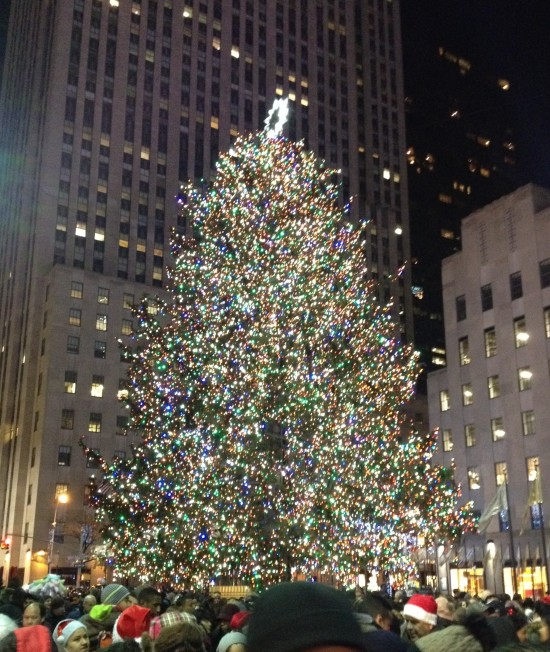 Rockefeller Center Tree 2014