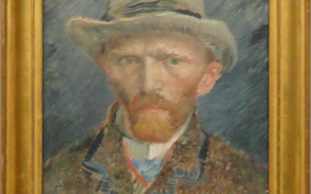 Van Gogh was a man of many selfies.