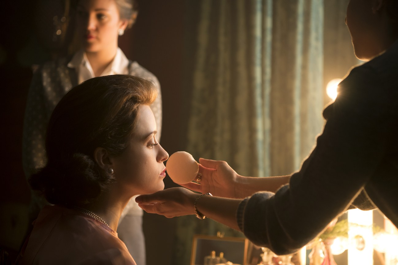Photo of Queen Elizabeth from The Crown