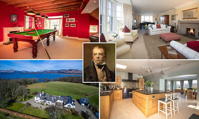 Home which inspired Sir Walter Scott on market for £1.5million   Daily Mail Online