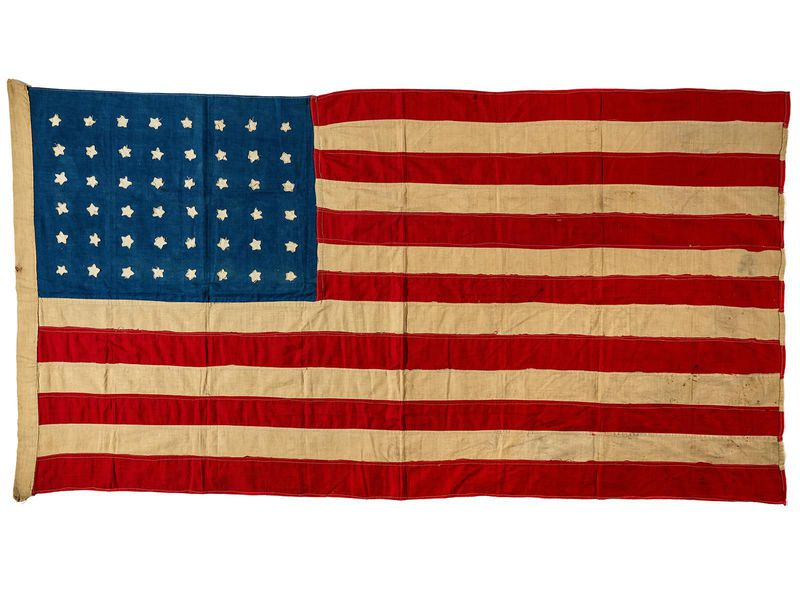 A Hundred-Year-Old Handmade American Flag Flies Home. . . to Scotland | At the Smithsonian | Smithsonian