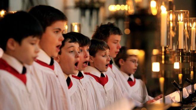 Meet the godfathers of the Christmas carol – BBC News