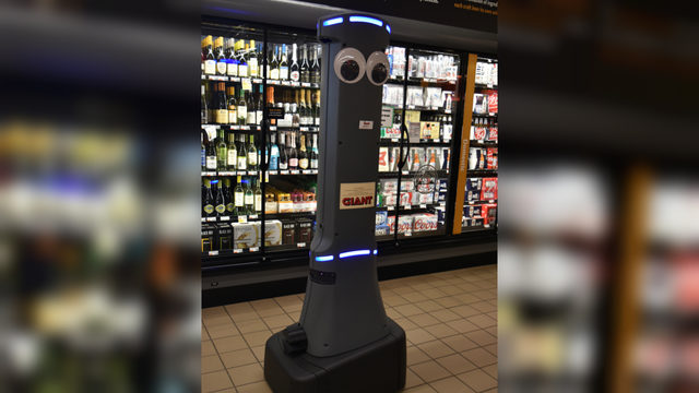 GIANT food stores to use in-store robots at all locations – WFMZ