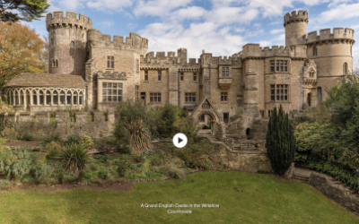 A Grand English Castle in the Wiltshire Countryside – Mansion Global