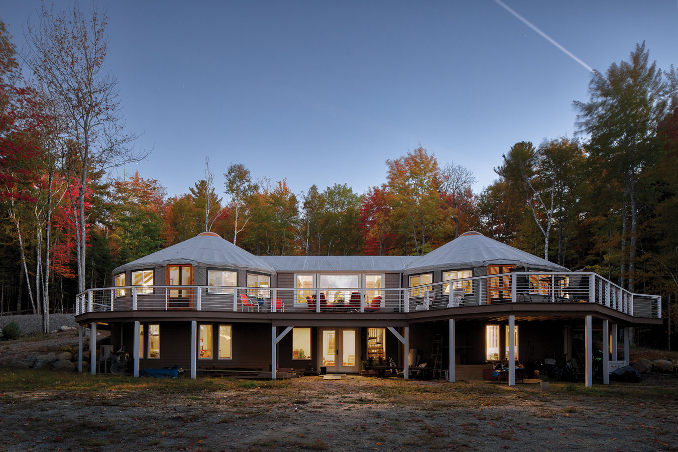 A Yurt in Maine
